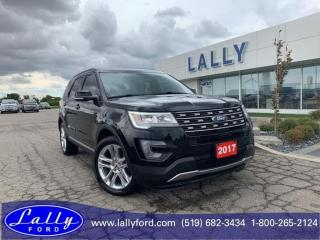 Used 2017 Ford Explorer XLT, AWD, Roof, Leather, Nav!! for sale in Tilbury, ON
