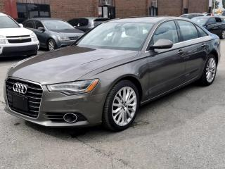 Used 2014 Audi A6 4dr Sdn quattro 3.0T Technik for sale in Kitchener, ON