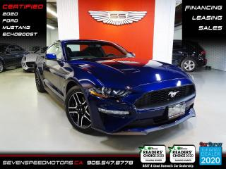 Used 2020 Ford Mustang ECOBOOST FASTBACK | CERTIFIED | NAVI | FINANCE @ 4.65% for sale in Oakville, ON