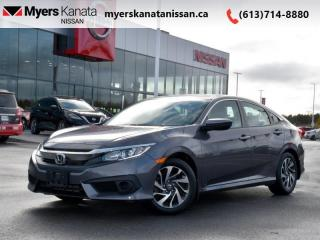Used 2017 Honda Civic Sedan EX  - Sunroof -  Bluetooth - $129 B/W for sale in Kanata, ON