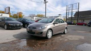 Used 2012 Hyundai Accent L for sale in Winnipeg, MB