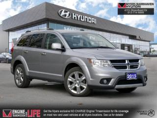 Used 2015 Dodge Journey R/T  - Leather Seats -  Bluetooth - $137 B/W for sale in Nepean, ON