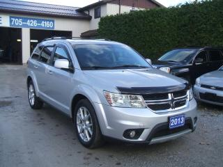 2013 Dodge Journey Crew, V6, 7 Passenger