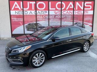 Used 2015 Hyundai Sonata 2.4L Sport Tech-ALL CREDIT ACCEPTED for sale in Toronto, ON