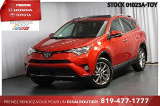 Used 2017 Toyota RAV4 LIMITED| 6968 KM| COMME NEUF for sale in Drummondville, QC