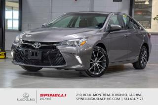 Used 2017 Toyota Camry 4 CYL XSE; CUIR GPS SIEGES CHAUFFANT MAGS 18'' MOTEUR 4 CYL 2.5L - NAVIGATION - SIÈGES AVANT ÉLECTRIQUE / CHAUFFANT - CAMERA DE RECUL - MAGS 18'' for sale in Lachine, QC