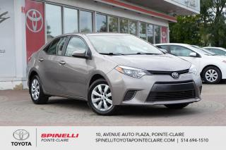 Used 2016 Toyota Corolla LE CAMÉRA DE RECUL, SIÈGES CHAUFFANT for sale in Pointe-Claire, QC