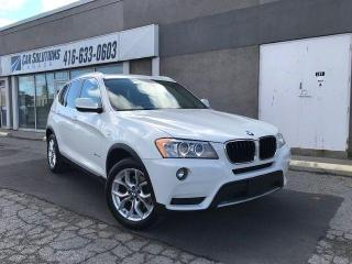 Used 2013 BMW X3 28i-NAVI-CAMERA-SUNROOF for sale in Toronto, ON