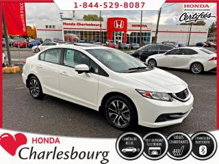 Used 2015 Honda Civic EX AUTOMATIQUE**TOIT OUVRANT** for sale in Charlesbourg, QC