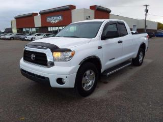 Used 2007 Toyota Tundra SR5 4x4 Double Cab 145.6 in. WB for sale in Steinbach, MB