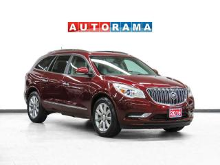 Used 2016 Buick Enclave Premium AWD Nav Leather Sunroof Backup Cam for sale in Toronto, ON
