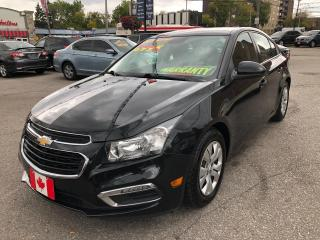 Used 2016 Chevrolet Cruze Limited LT for sale in Scarborough, ON