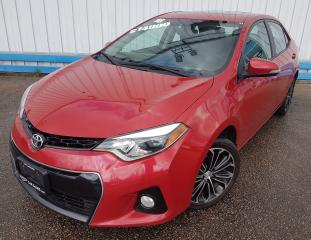 Used 2016 Toyota Corolla S *LEATHER-SUNROOF* for sale in Kitchener, ON