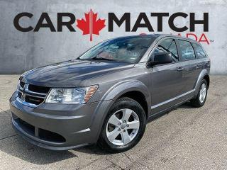 Used 2013 Dodge Journey CVP / AC / NO ACCIDENTS for sale in Cambridge, ON