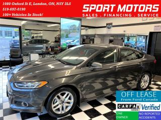 Used 2016 Ford Fusion SE+Camera+Heated Seats+New Tires+ACCIDENT FREE for sale in London, ON