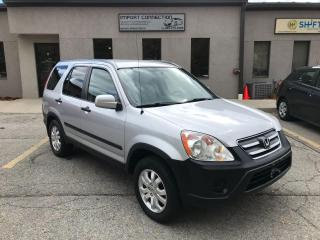 Used 2006 Honda CR-V 4WD EX Auto,LOW MILEAGE,VERY CLEAN !CERTIFIED. for sale in Burlington, ON