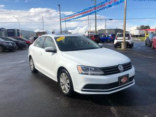 Used 2015 Volkswagen Jetta BACKUP CAM*SUNROOF*HEATED SEATS for sale in London, ON