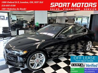 Used 2017 Jaguar XE Prestige AWD 3.0L V6+Camera+Roof+GPS+ACCIDENT FREE for sale in London, ON