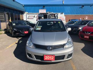 Used 2012 Nissan Versa 1.8 S for sale in Ajax, ON