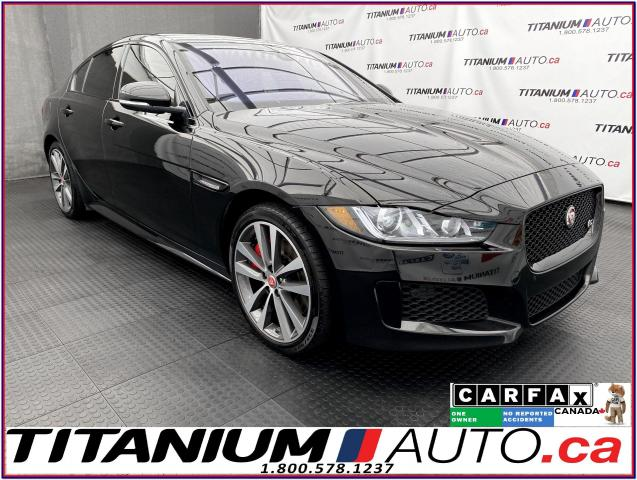 "2018 Jaguar XE S-SuperCharged+AWD+10"" Touch Pro Duo+Driver Assist"