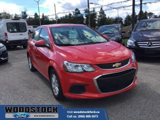 Used 2018 Chevrolet Sonic LT  - $101 B/W for sale in Woodstock, ON