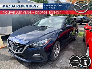 Used 2016 Mazda MAZDA3 BERLINE GX AUTO CRUISE-BLUETOOTH 48.56$/ for sale in Repentigny, QC