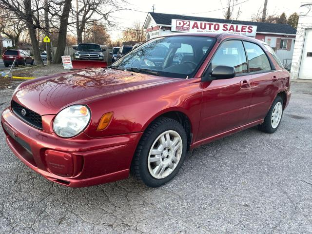 2003 Subaru Impreza Automatic/AWD/4 Cylinder/AS IS Special