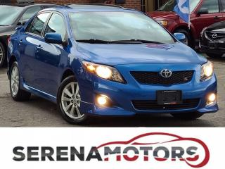 Used 2010 Toyota Corolla S | MANUAL | SUNROOF | ONE ONWER | NO ACCIDENTS for sale in Mississauga, ON