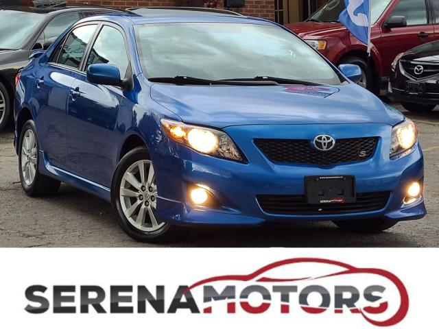 2010 Toyota Corolla S | MANUAL | SUNROOF | ONE ONWER | NO ACCIDENTS