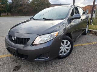 Used 2009 Toyota Corolla CE for sale in Brampton, ON