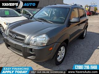 Used 2007 Hyundai Tucson GL w/Lthr Pkg for sale in Hamilton, ON