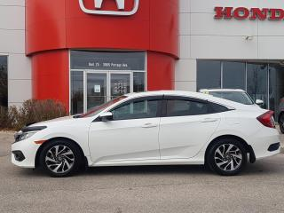 Used 2017 Honda Civic EX One Owner - Local for sale in Winnipeg, MB