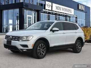 Used 2018 Volkswagen Tiguan Comfortline Low Kms! for sale in Winnipeg, MB