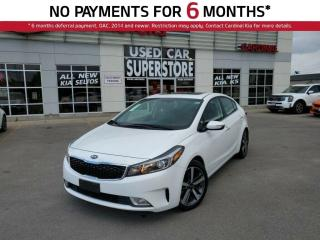 Used 2018 Kia Forte EX Luxury, Leather, Sunroof, Blind Spot Sensors. for sale in Niagara Falls, ON