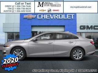 New 2020 Chevrolet Malibu LT for sale in Kipling, SK