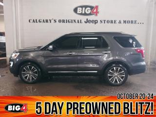 Used 2017 Ford Explorer Platinum for sale in Calgary, AB