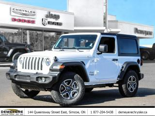 New 2021 Jeep Wrangler SPORT S PKG | *LEASE FOR 215 BI-WEEKLY for sale in Simcoe, ON