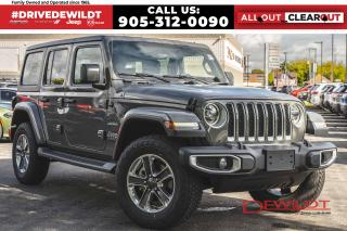 New 2021 Jeep Wrangler Unlimited UNLIMITED SAHARA | NAV + SOUND | TOW PKG | LEDS | for sale in Hamilton, ON