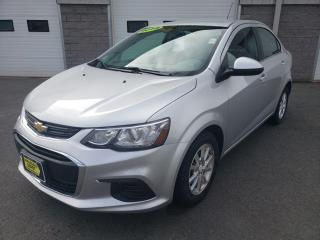 Used 2018 Chevrolet Sonic LT with Auto Start & Heated Seats for sale in Kentville, NS