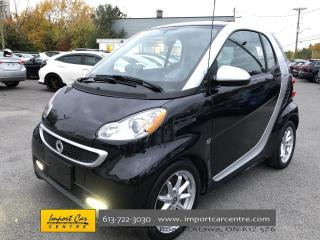 Used 2016 Smart fortwo electric drive Passion ELECTRIC  ALLOYS  CLOTH  PANO ROOF for sale in Ottawa, ON