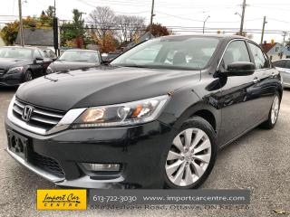 Used 2015 Honda Accord EX-L LEATHER  ROOF  HTD SEATS  BACKUP CAMERA for sale in Ottawa, ON