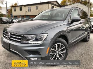 Used 2018 Volkswagen Tiguan Comfortline LEATHERETTE  ROOF  NAVI  HTD SEATS  BA for sale in Ottawa, ON