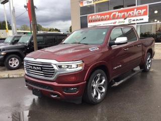 New 2021 RAM 1500 LONGHORN 4X4 / ECODIESEL / 22 INCH WHEELS for sale in Milton, ON