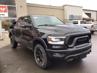 New 2021 RAM 1500 REBEL ECODIESEL / NIGHT EDITION / ROMBOX / PANO RO for sale in Milton, ON