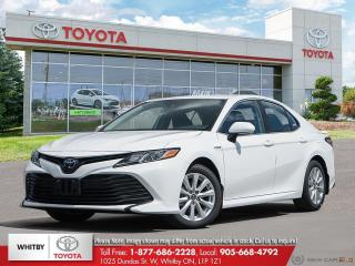 New 2020 Toyota Camry HYBRID LE for sale in Whitby, ON