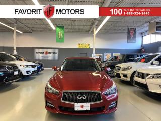 Used 2014 Infiniti Q50 3.7 AWD NAV SUNROOF LEATHER HEATEDSEATS for sale in North York, ON