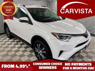 Used 2017 Toyota RAV4 LE AWD - LOCAL VEHICLE/FACTORY WARRANTY - for sale in Winnipeg, MB