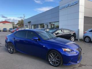 Used 2016 Lexus IS 300 IS300 *F-SPORT *F2 *AWD *CAMERA *GPS *TOIT/SUNROOF for sale in Saint-Hubert, QC