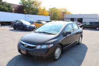Used 2010 Honda Civic 1.8L DX-G for sale in Whitby, ON