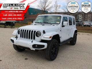 New 2021 Jeep Wrangler High Altitude Unlimited - Trailer Tow for sale in Selkirk, MB